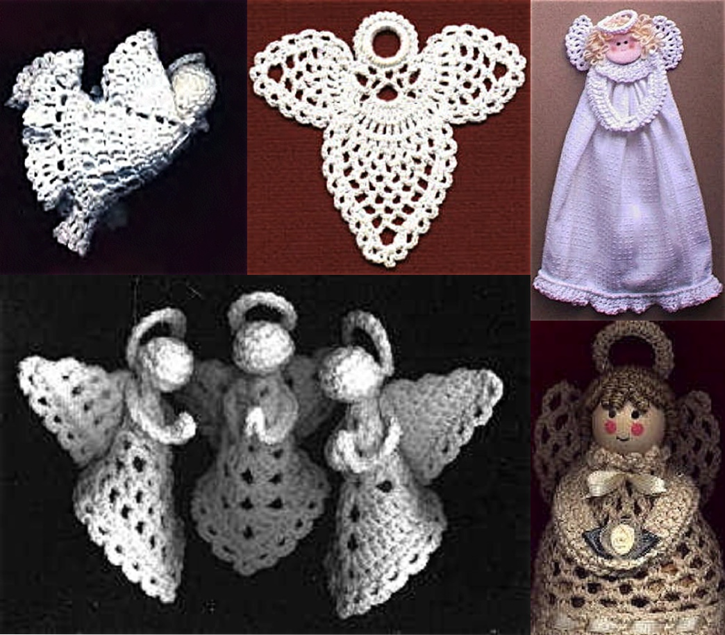 ... angel granny square angels kitchen angel towel ring potpourri angel