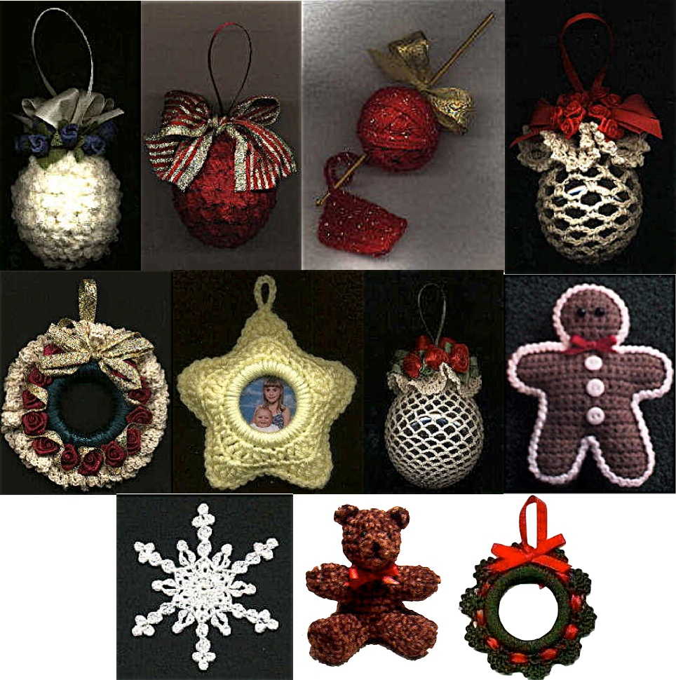 Free Crochet Patterns For Christmas Ball Covers : Free Pattern Index